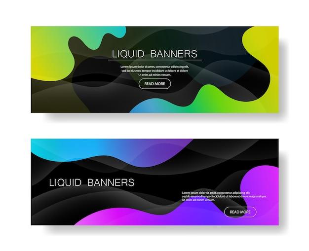 과일 개념에서 동적 스타일 배너 디자인입니다. 유체 그라데이션이 있는 주황색 요소입니다. 포스터, 웹, 방문, 페이지, 표지, 광고, 인사말, 카드, 판촉을 위한 창의적인 삽화.