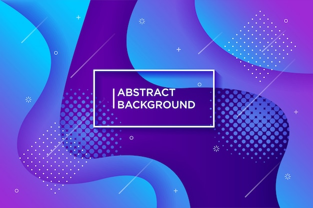 Dynamic textured background  in 3d style with blue color.