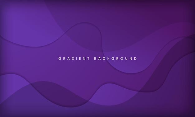 Динамический текстурированный дизайн фона в стиле жидкого градиента с фиолетовым цветом