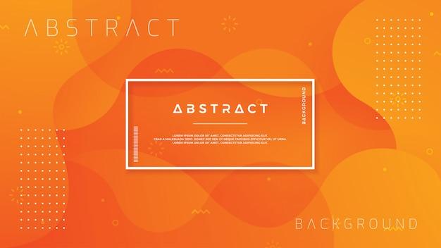 Dynamic textured orange background