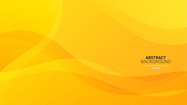 Dynamic textured yellow abstract background