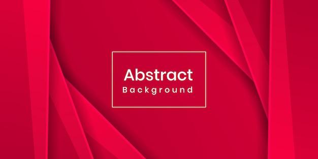 Динамический яркий красочный абстрактный красный фон