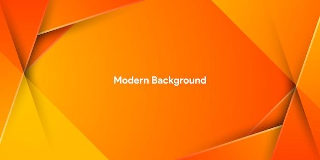 Динамический яркий красочный градиент оранжевого фона