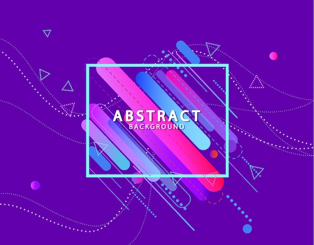 Dynamically abstract background