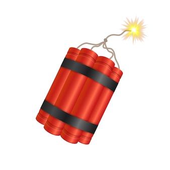 Dynamite bomb stick