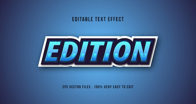 Eスポーツ3dテキスト効果、編集可能なテキスト