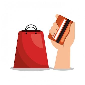 E-commerce shop online design