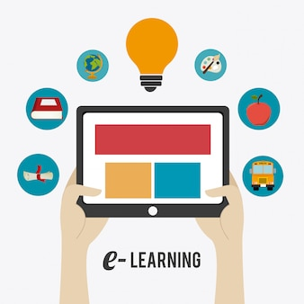 E- learning design.