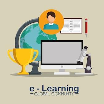 Концепция глобального сообщества электронного обучения