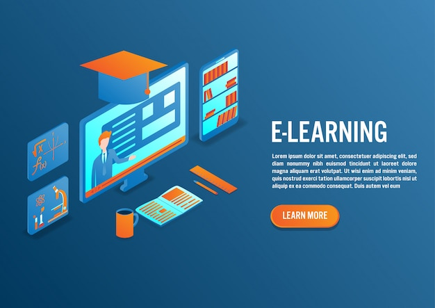 E-learning in isometric design