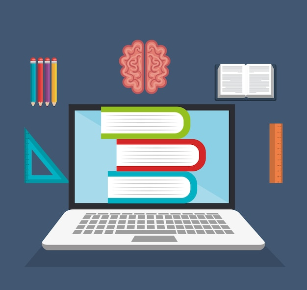 E-learning library virtual education online