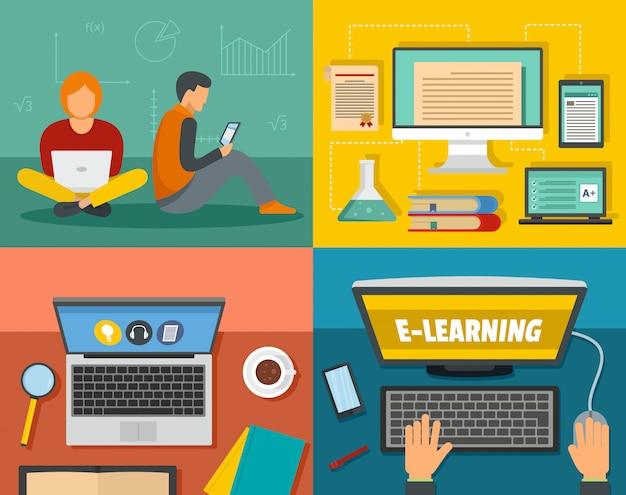 전자 학습 교육
