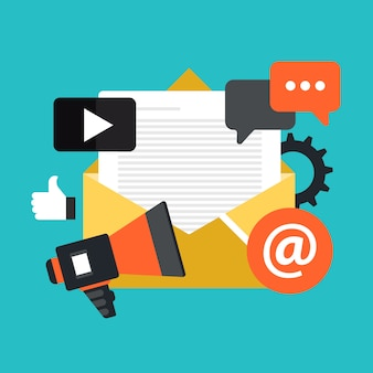E mail marketing and newsletter