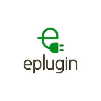 E-plugin letter logo
