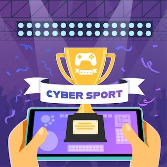 The e-sports competition of the year trophies and prize money await esports athletes if they are able to win against an opposing team