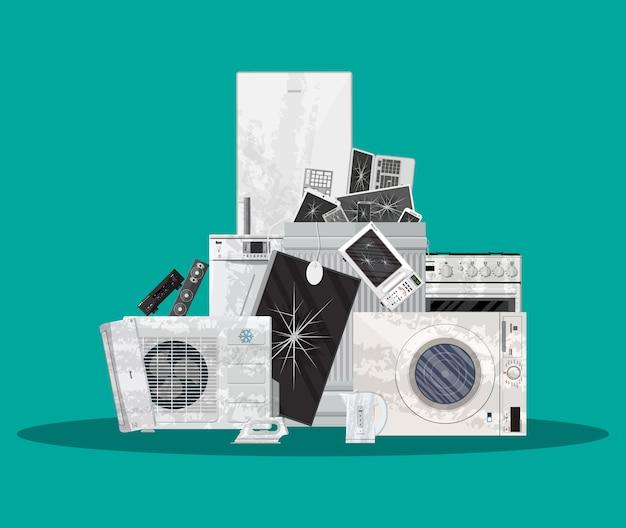 Электронные отходы электрического и электронного оборудования