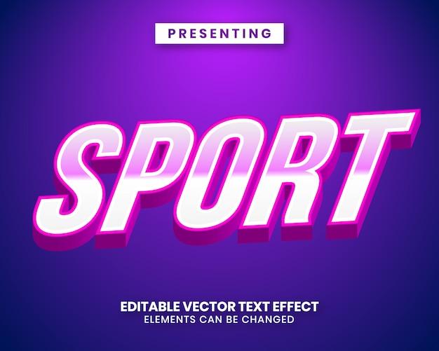 Eスポーツスタイルの編集可能なテキスト効果