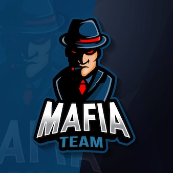 マフィアマスコットeスポーツのロゴ