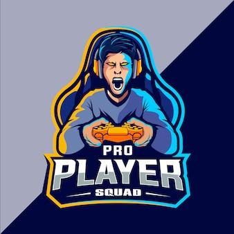 ゲーマーeスポーツのロゴデザイン