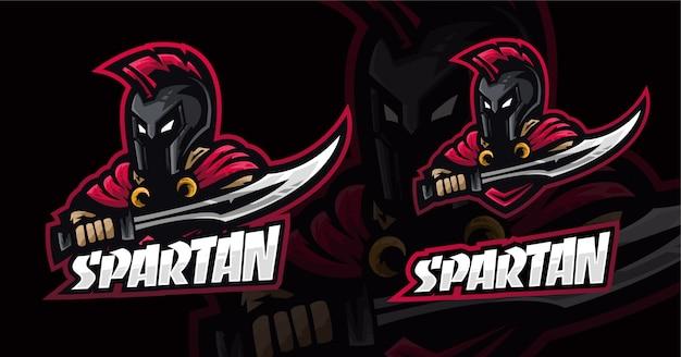 スパルタンeスポーツのロゴデザイン