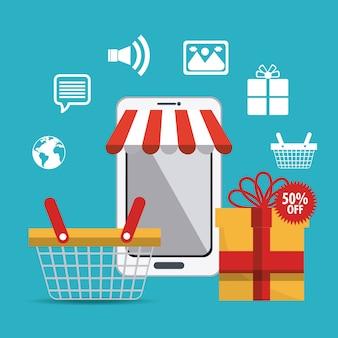 ショッピング、eコマース、マーケティング