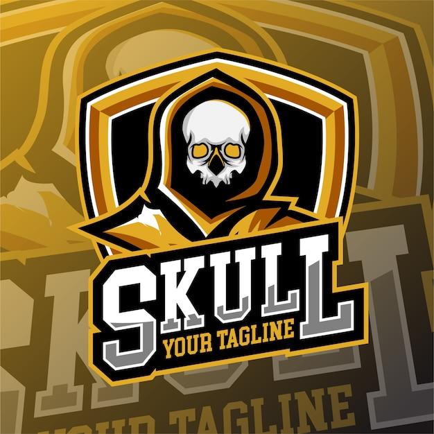 Логотип e спортивного игорного логотипа