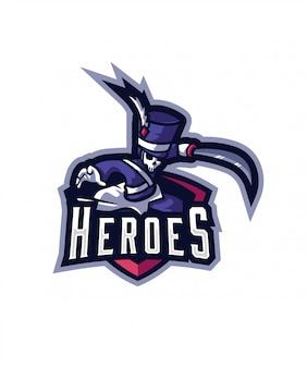 英雄eスポーツのロゴ