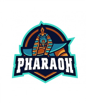 Синий фараон e спорт логотип
