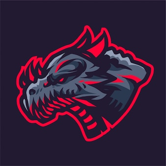 ドラゴンヘッドeスポーツロゴ