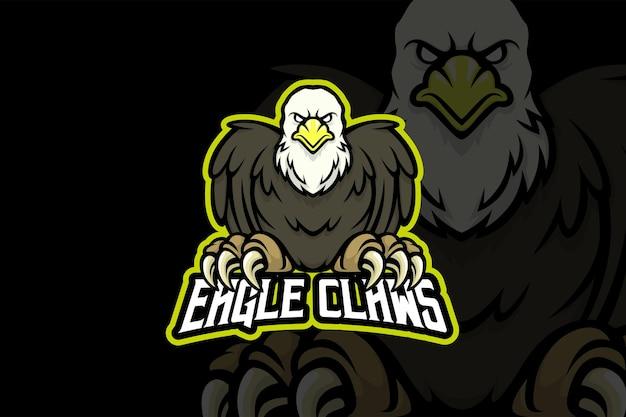 Eagle claws - esport logo template