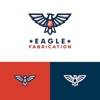 Eagle concept illustration vector design template