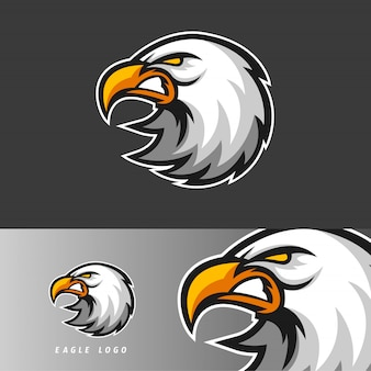 Eagle esport gaming mascot emblem
