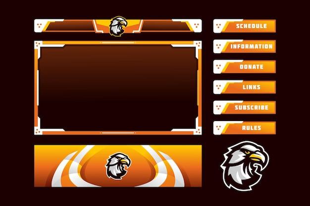 Eagle gaming panel overlay