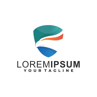 Eagle gradient logo