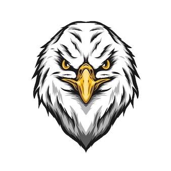 Иллюстрация головы орла