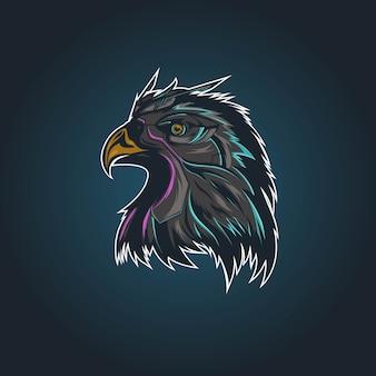 Талисман головы орла