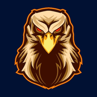 Eagle head vector illustration design isolated