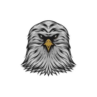 Голова орла векторные иллюстрации