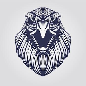 Eagle head