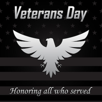 Eagle icon for veterans day.