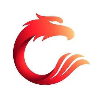 Eagle letter c logo