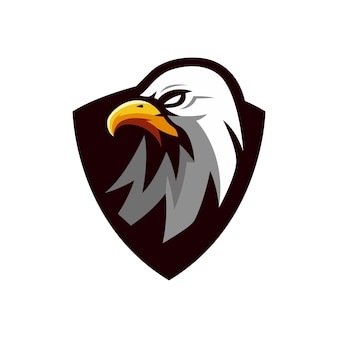 독수리 로고 디자인