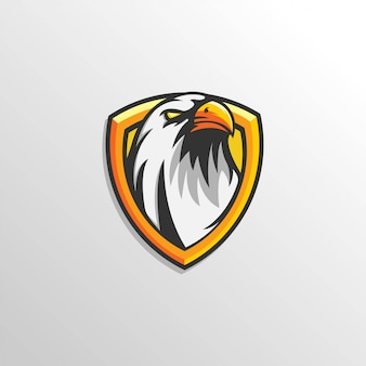 Шаблон eagle logo esport team