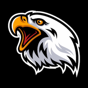 Eagle logo for a sport team
