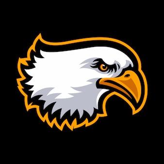 Eagle logo for a sport team