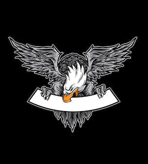 Eagle logo vector
