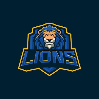Eagle mascot logo design