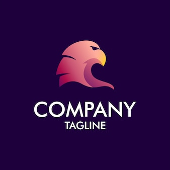 Eagle modern logo