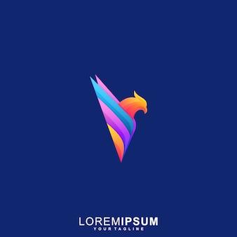 Высокий логотип eagle premium