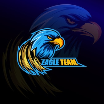Eagle team logo e sport
